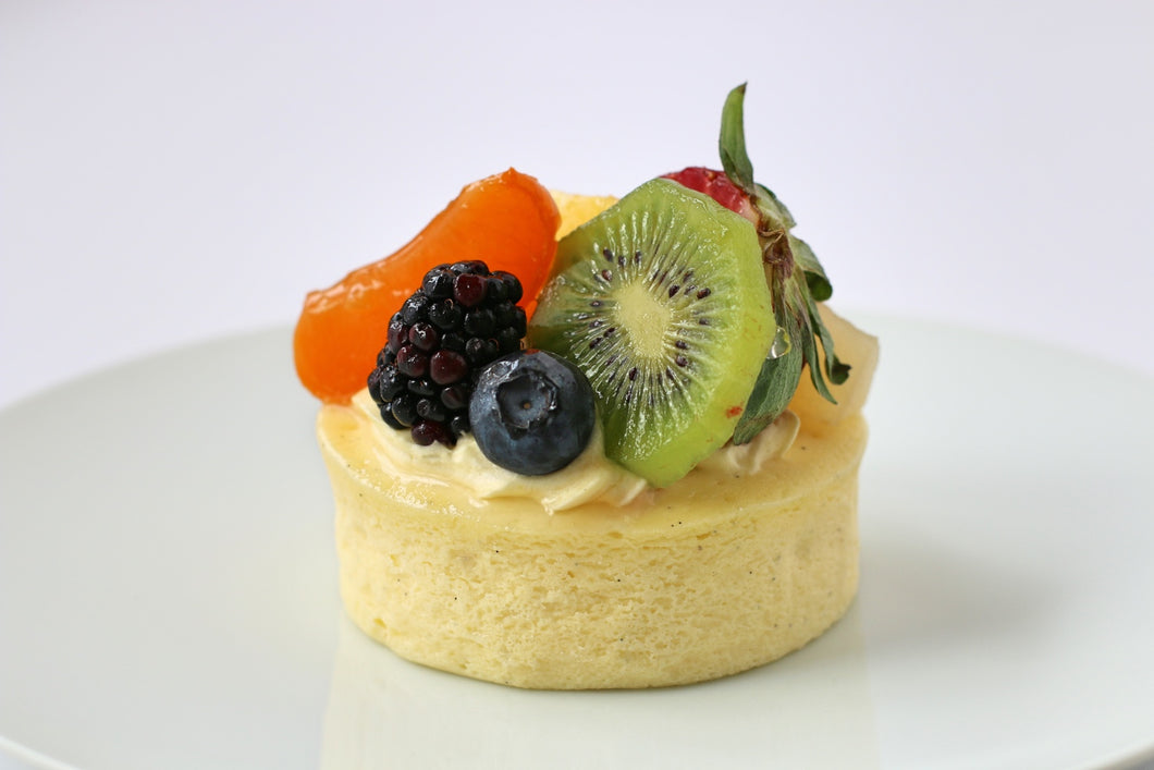 Mixed Fruit Cheesecake Individual