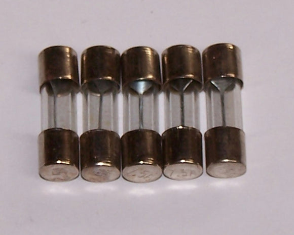 2AG-7.5 Fuses Glass 2AG 7.5A Packaged
