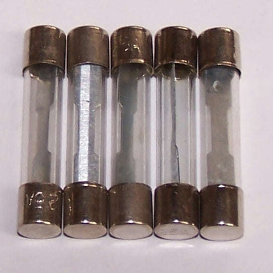 3AG-25P Fuses 3AG 25A Glass Packaged