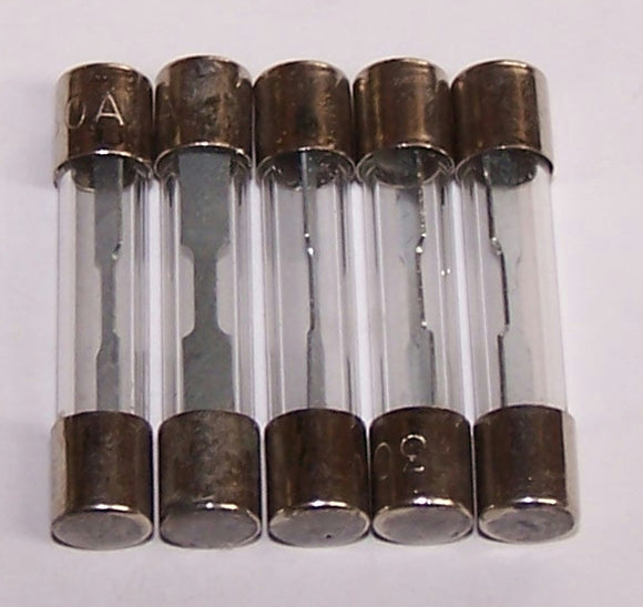3AG-30P Fuses 3AG 30A Glass Packaged