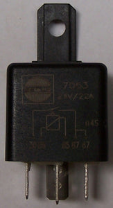 7063 Hella Relay 24V 22A 2x87 5 Pin