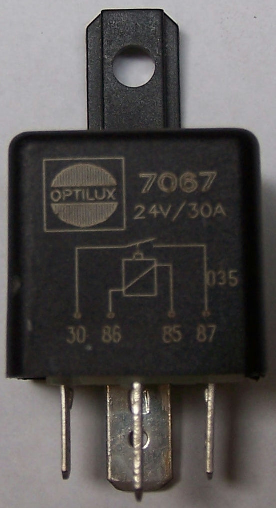 7067 Hella Relay 24V 30A 4 Pin