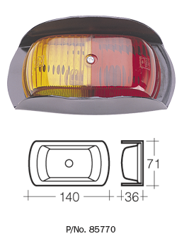 85760 Lamp Red/Amber Clearance