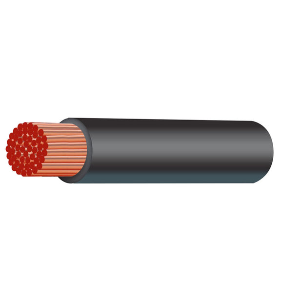 2B&S30-B Cable 2 B&S Roll Black