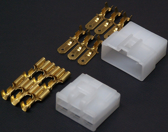 FM6 Connector Set 6 Pin 6mm