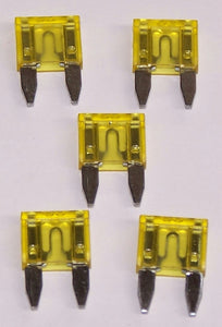 MWE20P Fuses Mini Wedge 20A Packaged