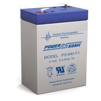PS640 Battery Sealed 6V 4.5aH
