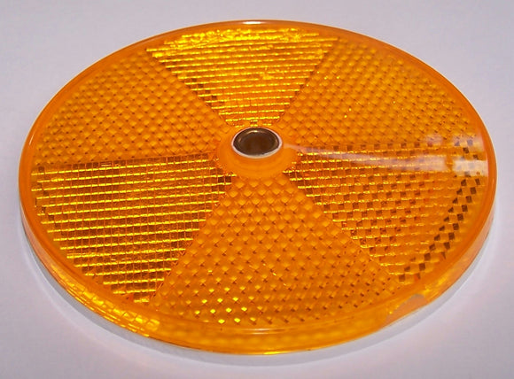 REF3.5A Reflector Amber 31/2