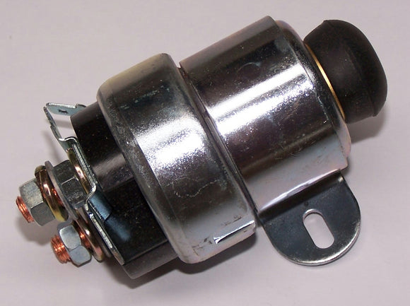 SS703 Solenoid 12V Lucas style with Starter Button