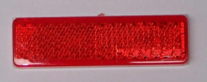 WR120R Reflector Red 70x20mm Adhesive