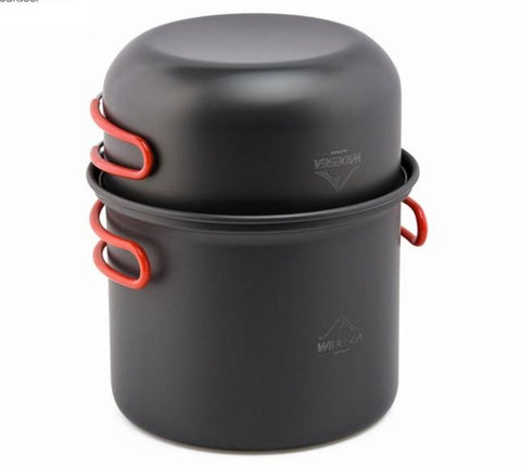 Non-stick Pots Pans Portable Outdoor Cooking Set