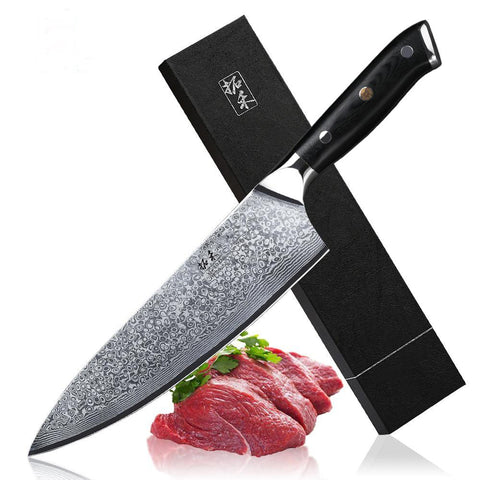 "Japanese 8"" chef knife"