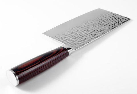 "Image of CookBusters™ 7"" Handmade Meat Cleaver Knife"