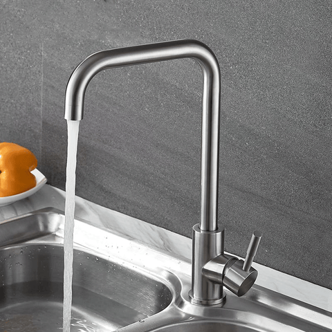 Image of Stainless Steel Kitchen Faucet