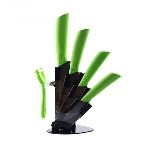 Ceramic Kitchen Knives Accessories set