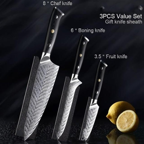 Image of Damascus Steel VG10 Professional Kitchen Knife