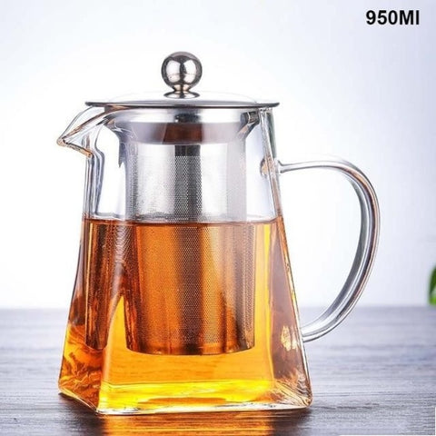 Image of Borosilicate Glass Teapot