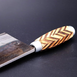 Handmade High Carbon Wood Handle Kitchen Knives