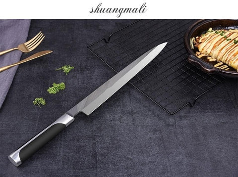 Image of Fish Filleting Stainless Steel Fillet Sushi Knife