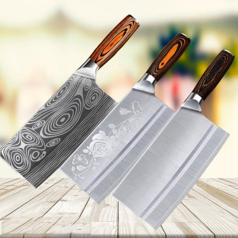 Stainless Steel Meat Cleaver 8 inch Butcher Knife