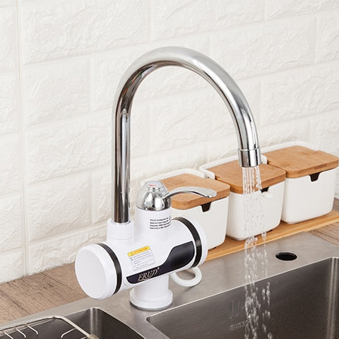 Electric Kitchen Water Heater Tap Instant Hot Water Faucet