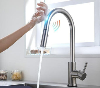 Kitchen Faucet Smart Touch Sensor Pull Down
