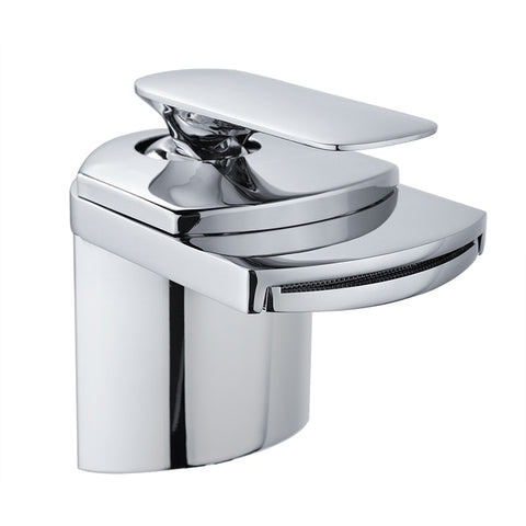 Waterfall Bathroom Mixer Tap Basin Sink Faucet