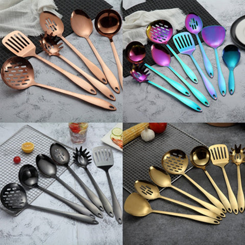 Stainless Steel Kitchenware Cooking Tool Set