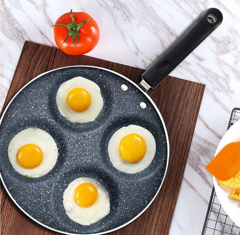 Non-Stick 5 Holes Frying Pan