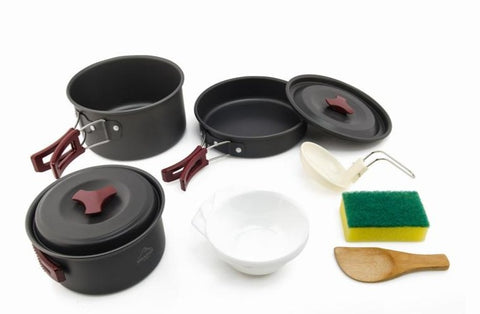 2-3 Camping Tableware Picnic Set