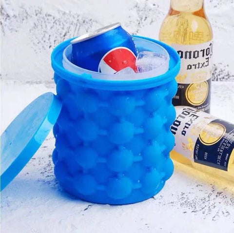 Silicone Ice cream Bucket Mold with Lid