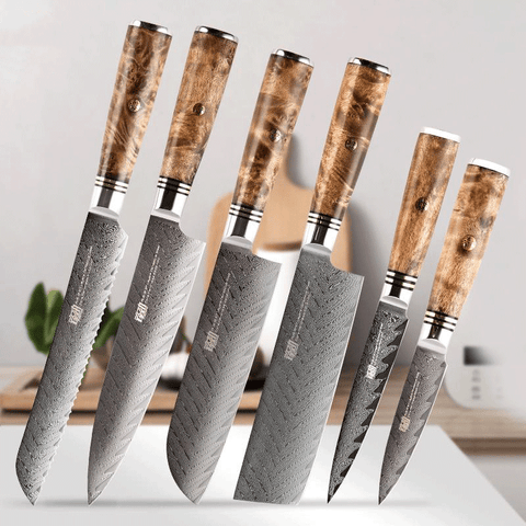 Image of Full 6PC Knife set