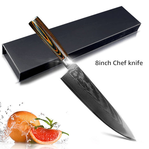 Image of 8 inch chef knife