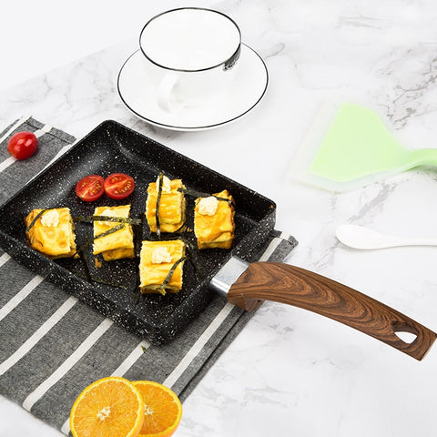Japanese Medical Stone Aluminum Alloy Non Stick Pan