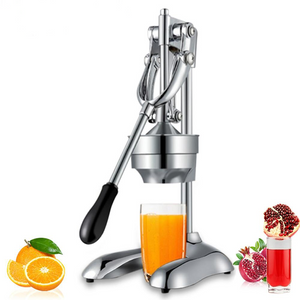 Citrus fruit pressing machine, fruit juicer