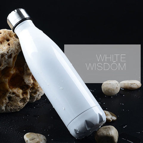 Double-Wall Insulated Vacuum Flask Water Bottle