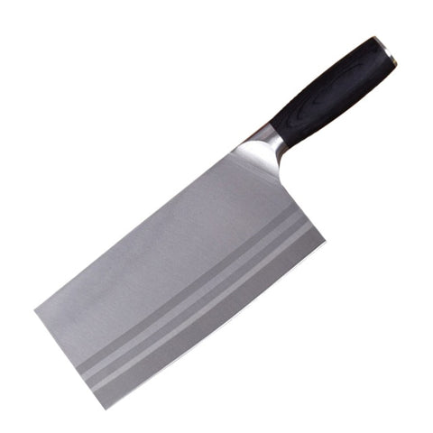 Image of Stainless Steel Meat Cleaver 8 inch Butcher Knife