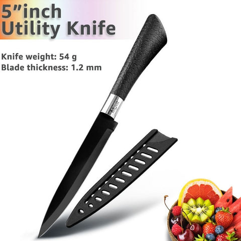 High Carbon Stainless Steel Knives Set