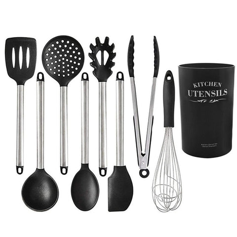 Image of Silicone Heat Resistant Cookware Spatula