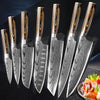 7PCS Chef Knives Set