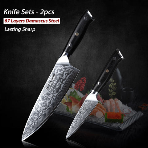 Image of 2PC Japanese Knife Set