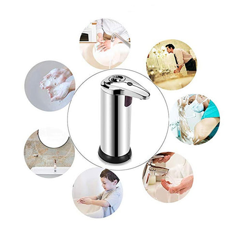 Image of Automatic Liquid Soap Dispenser, Smart Sensor