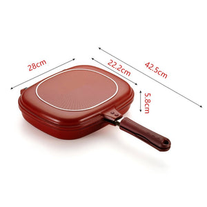 Non-Stick Double-Sided Frying Pan