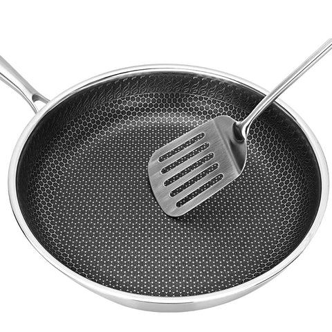 Stainless Steel Skillet Nonstick Fry Pan
