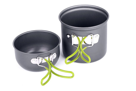 Ultralight Camping Cookware Utensils Outdoor Tableware Set