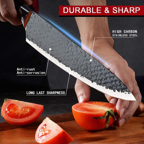 Image of Stainless Steel Kitchen Knives Set