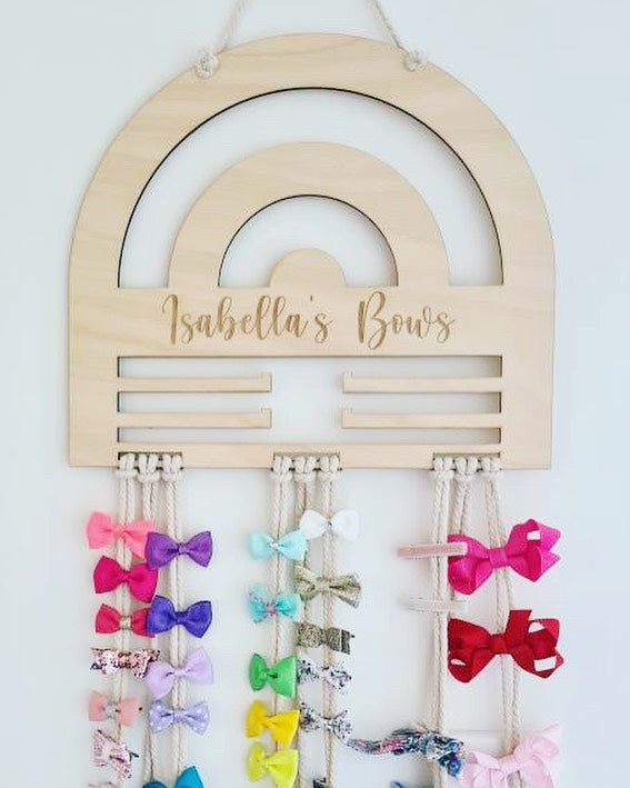 Rainbow Bow Holder