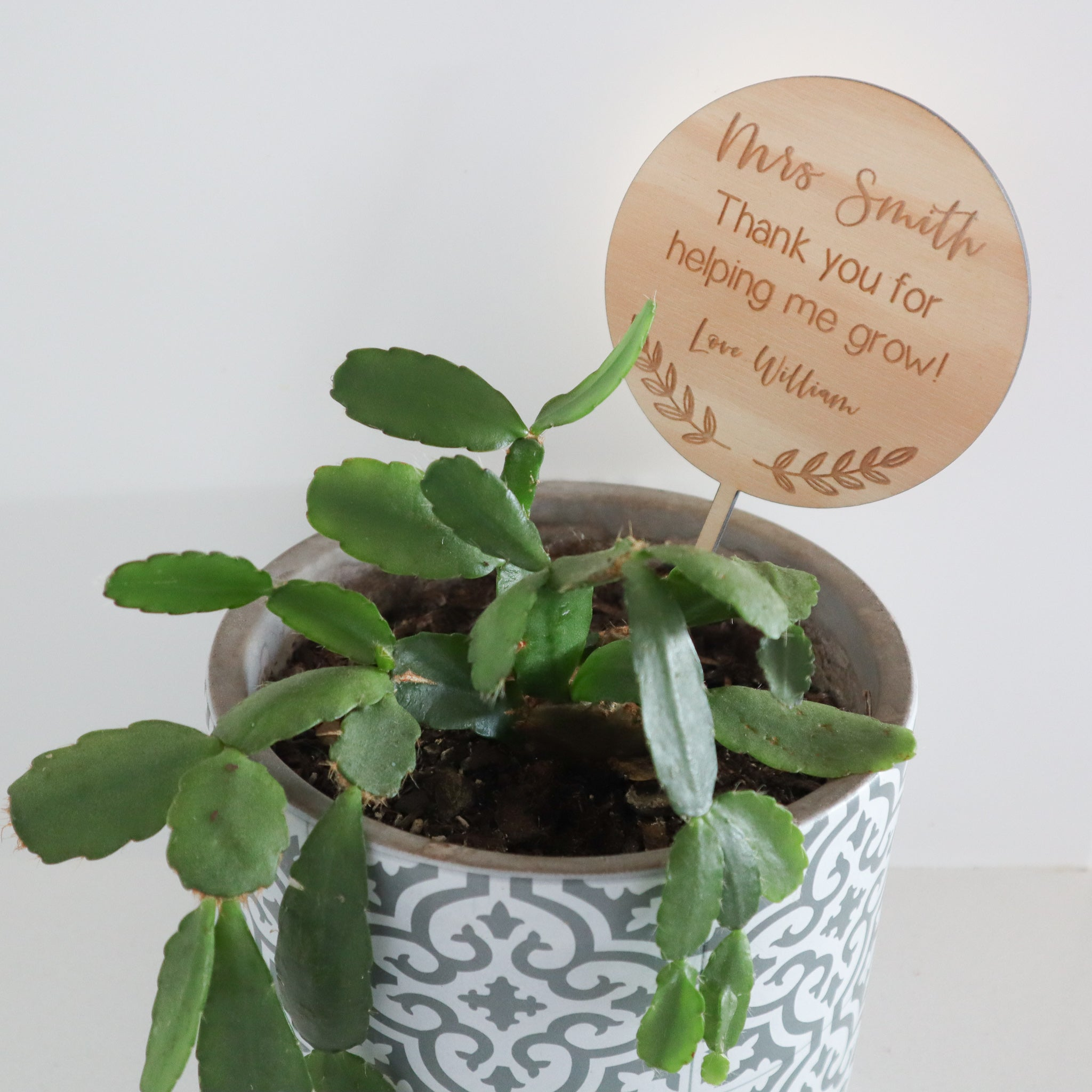 Personalised Planter Stick