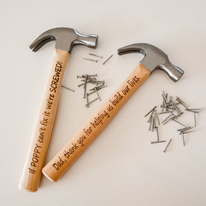 Father's Day Engraved Hammer