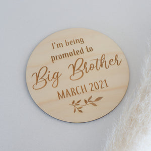Big Brother Announcement Plaque